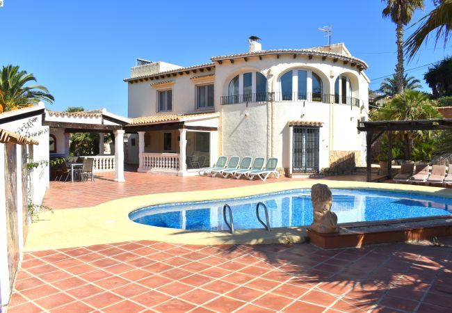 Chalet in Javea / Xàbia - Casa Irene Javea (10P) - 5015-2