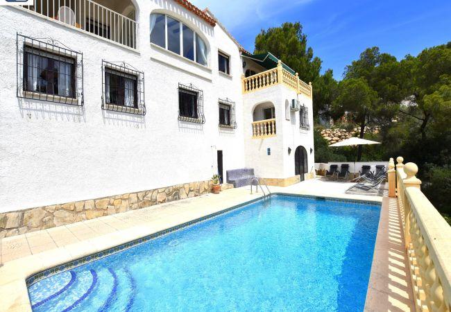 Chalet in Javea / Xàbia - Casa Vista al Mar Javea - 5061